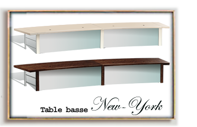 location table basse New-York